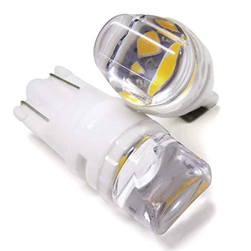 ワゴンR MH23 LED ポジションランプ T10 ウェッジ球 バルブ ポジション セラミック 放熱 ホワイト 白 2個セ...