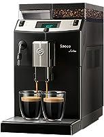 saeco lirika basic libera installazione 2.5l nero, metallico, 1850 w, 2 cups, 80 decibel, plastica