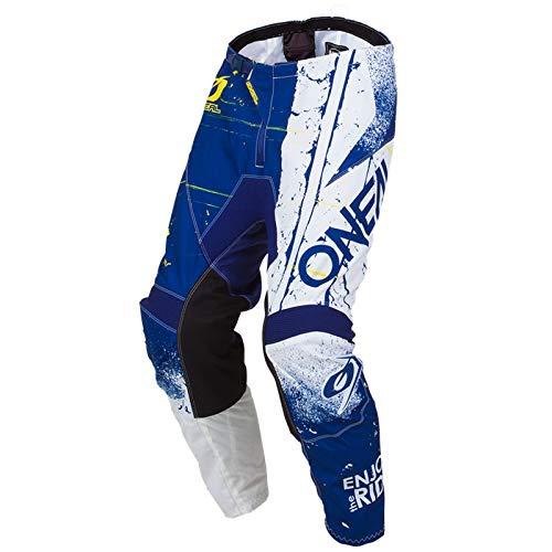 O'NEAL Element Shred Youth Kinder MX DH MTB Pant Hose lang blau/weiß 2019 Oneal: Größe: 28 (152-178)