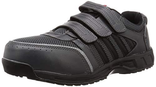 [コーコス信岡] 安全作業靴 JSAA認定 プロスニーカー 軽量 耐滑 アンドレスケッティー メンズ チャコール 30 cm 4E
