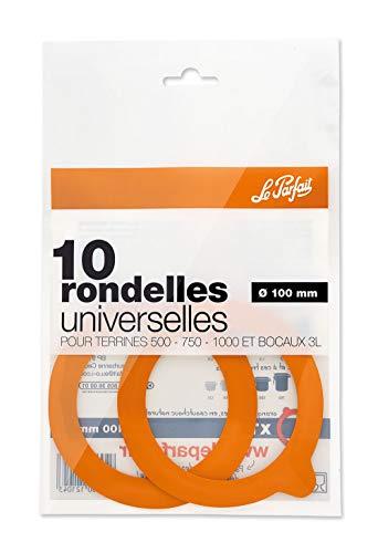 Le Parfait Rondelles universelles Pour bocal diamètre 100 mm - Vendu par 10