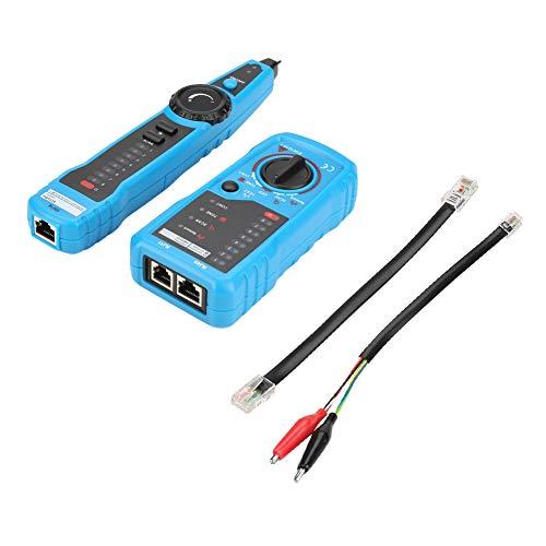 Netzwerkkabel-Tester,Jectse FWT11-Tester Handheld-Kabelfinder multifunktionales Handkabelprüfgerät Netzwerkkabel-Tracker für Bildung, Haushalt, Haushaltsgerät, Industrie, Markt, Büro