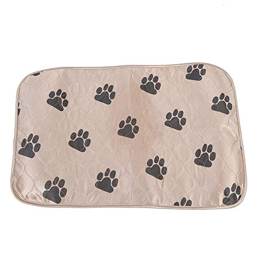 Fdit - Tappetino per urina per cani e gatti, riutilizzabile, impermeabile, 40 x 60 cm, colore marrone