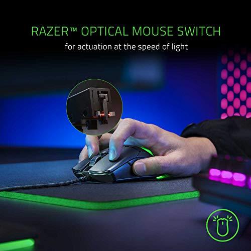 Razer Viper Mini - Ultra light Gaming Mouse (Ultraleichte beidhändige Gamer Maus mit 61g Gewicht, Speedflex-Kabel, optischer 8.500 DPI Sensor und RGB Chroma Beleuchtung) Schwarz - 3