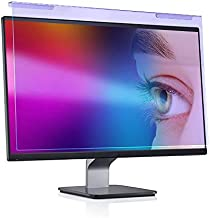 Anti Blue Light Screen Protector for 23 23.6 23.8 24 inch Universal Desktop Monitor Computer Blue Light Blocking Filter Panel for Eyes - Widescreen Monitor Frame Hanging Type (16:9/16:10)