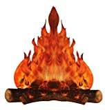 3-D large decorative cardboard campfire centerpiece 14' tall