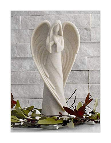 Healing for The Hurting Sending You an Angel Statue to Express Sympathy for Funeral Or Memorial Comfort The Grieving for Loss of A Loved One