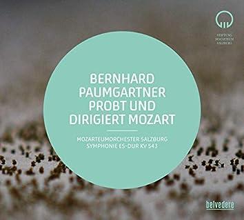 Bernhard Paumgartner probt und dirigiert Mozart