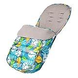 JSJE Bolso para Dormir del Carro de bebé, Manta de Swaddle del bebé recién Nacido, Cochecito Universal Footmpuffin Funda a Prueba de Viento Caliente, para Cochecito de as 1
