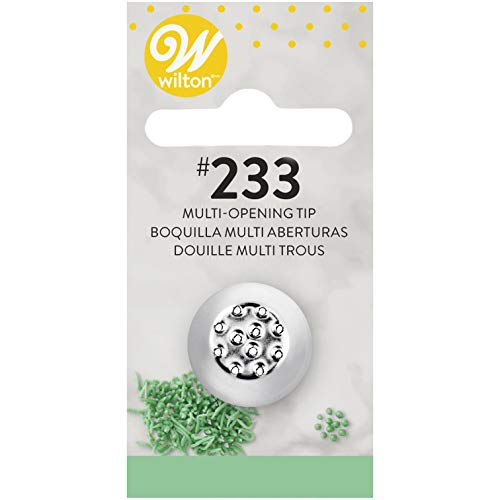 Wilton No.233 Decorating Tip, Multi-Opening
