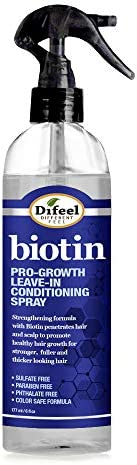 Difeel Pro Growth Biotin Leave in Conditioning Spray 6 oz Hair Loss Leave in Treatment product image