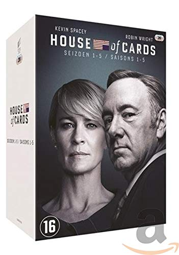 House of Cards - Season 1-5 [DVD] Import