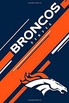 Denver Broncos  Denver Broncos Striped Notebook & Journal | NFL Fan Essential | Denver Broncos Fan Appreciation