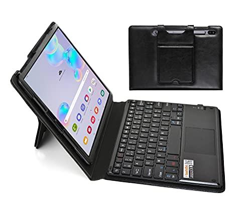 MQ21 para Galaxy Tab S6 10.5 - LAYOUT - Funda con teclado Bluetooth y panel táctil para Samsung Galaxy Tab S6   Funda con teclado para Galaxy Tab S6 10.5 LTE SM-T865 WiFi T860   Teclado AZERTY