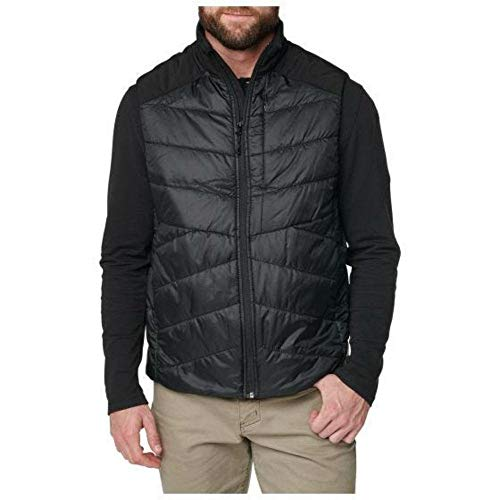 5.11 Tactical Men's Peninsula Insulator Packable Vest, Regular Fitting, 100% Polyester, Black, M, Style 80026