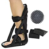 Vive Hard Plantar Fasciitis Night Splint and Trigger Point Spike -...