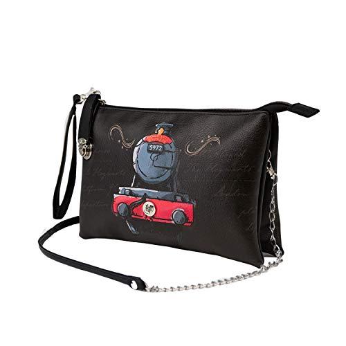 KARACTERMANIA Harry Potter Train-Bolso Handy Triple, Multicolor