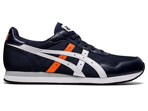 ASICS Men's Tiger Runner Shoes, 9.5M, Midnight/White
