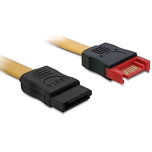 DeLock SATA 6 GB/S Verlängerungskabel 30 cm gelb