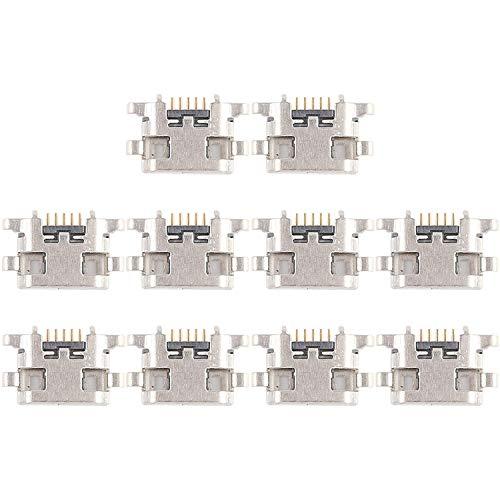 RANJINPAT RAJÍN Conector del Puerto de Carga de 10 PCS For Meizu Meilan 6