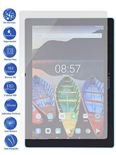 Todotumovil Protector de Pantalla Lenovo Tab 3 TB-X103F 10.1 de Cristal Templado Vidrio 9H para Tablet