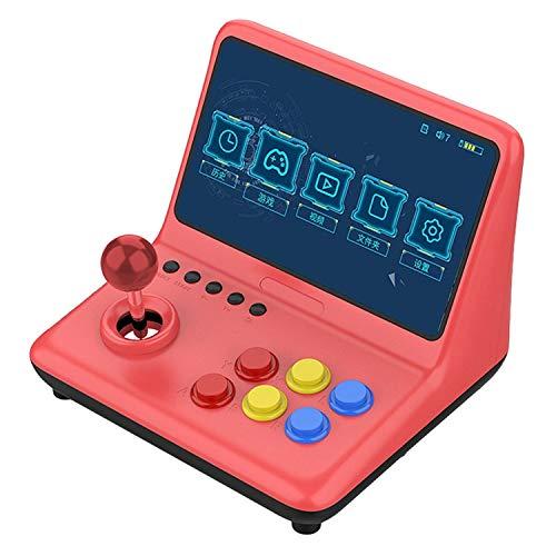 Runtodo A12 Consola de Juegos NostáLgica de 9 Pulgadas Consola de Videojuegos Joystick Arcade A7 Architecture Quad-Core CPU Simulator...