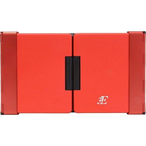浅沼商会 3E-BKY7-BR 3E Bluetooth Keyboard 【TENPLUS】 3つ折りタイプ ブラック×レッド ケース付属