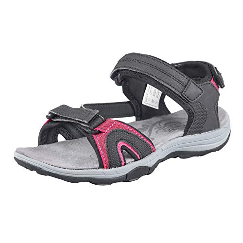 GRITION Ladies Outdoor Walking Sandals Womens Athletic Hiking Open Toe...
