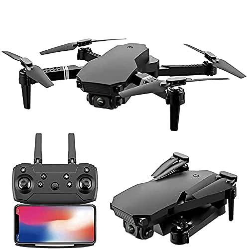 Drone con Telecamera WiFi FPV Drone con Telecamera HD 4K, Quadricottero RC con Mantenimento dell'altitudine, Funzione sensore di gravità, Decollo e atterraggio con Una Chiave, Drone Pieghevole co