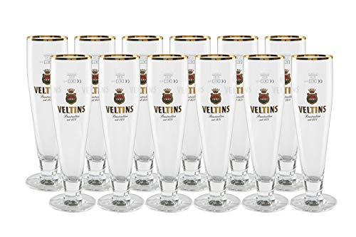 12 original Veltins Exclusiv Tulpe 0,3l Gastro Edition