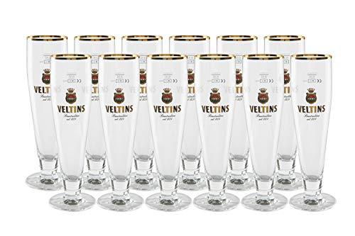 12 original Veltins Exclusiv Tulpe 0,3l Gastro Edition