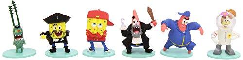 BOB L'EPONGE - Pack de 6 mini Figurines