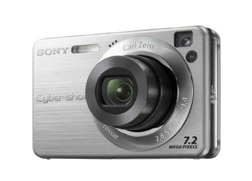 Sony Cybershot DSC W-110 S Digitalkamera (7 Megapixel, 4-fach opt. Zoom, 2,5