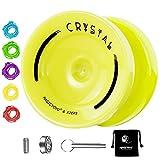 MAGICYOYO K2 Responsive Yoyo para niños, Yoyo Profesional para niños Principiantes, con rodamiento de yoyo Que no responde + Herramienta de extracción de rodamientos + Bolsa + 5 Cuerdas de yoyo