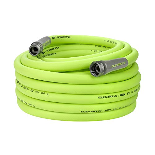 Flexzilla Garden Hose, 5/8 in. x 75 ft., Heavy Duty, Lightweight, Drinking Water Safe - HFZG575YW