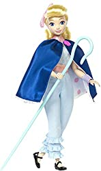 ​Leading heroine Bo Peep from Disney Pixar Toy Story 4 ​ Doll comes with a tiny version of Giggle McDimples ​ Highly posable for realistic story moves ​ Includes two outfits, a cape that turns inside out and her iconic staff for fashion play ​ Also c...