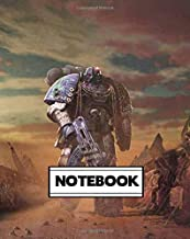 Notebook: Dot-Grid, Graph, Lined, Blank Paper: Warhammer 1: Journal diary 100 pages, 8 x 10