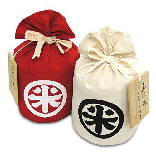 魚沼産コシヒカリ 特別栽培米 祝紅白丸米セット 大粒特撰別 10kg (5kg×2袋) 令和元年産