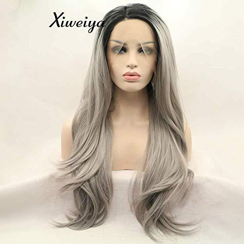 comprar pelucas lace frontal gris online
