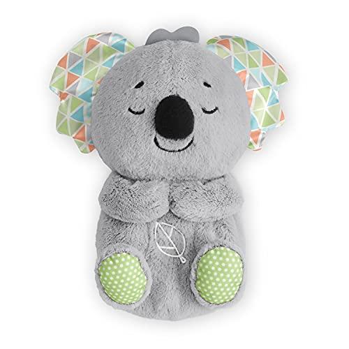 Fisher-Price HBP87 - Schlummer-Koala, musikalisches Kuscheltier mit realistischen Atembewegungen, für Babys