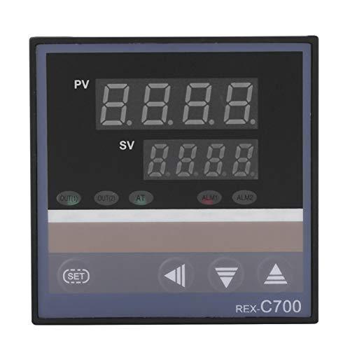 Controlador de temperatura, Interruptor de termostato integrado confiable, Salida DC4-20Ma 220V para moldeo por inyección de alimentos, Incubadora Industria química Rex-C700