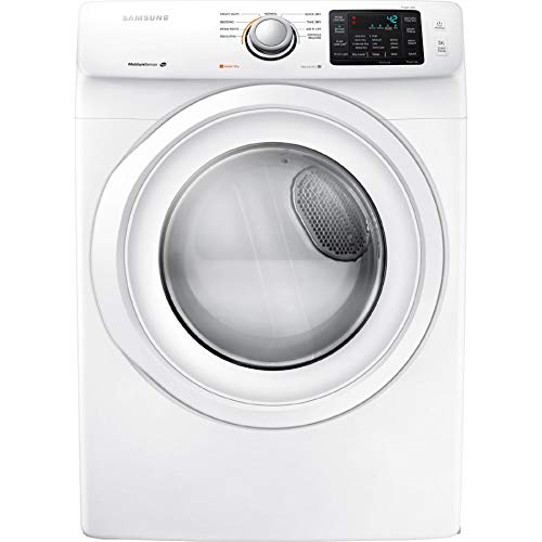 Samsung DV42H5000GW 7.5 Cu. Ft. Front-Load Gas Dryer with Smart Care, White