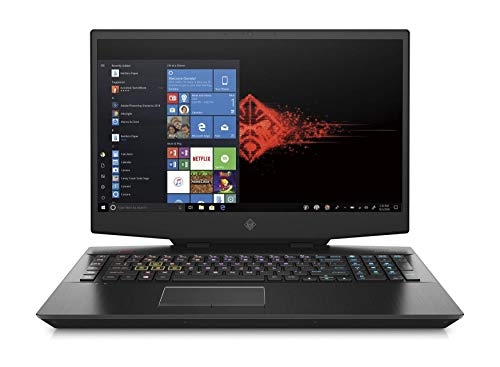 HP OMEN 17-cb1003na 17.3' FullHD 144Hz Gaming Laptop – i7 10750H, 32GB DDR4, 1TB SSD & 1TB HDD, Nvidia GeForce RTX 2080 Super 8GB, WIFI 6 & Bluetooth 5, Windows 10 Pro – UK Keyboard Layout (Renewed)