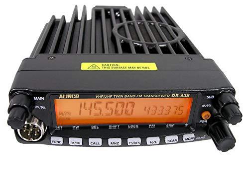 Alinco DR-638HE Emisora móvil Doble Banda UHF/VHF Full Duplex