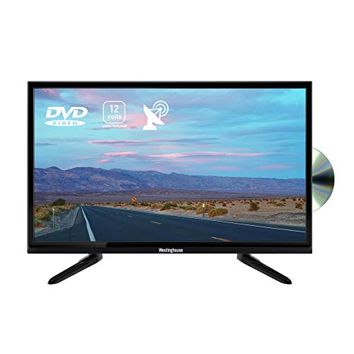 """Westinghouse 24"""" Inch 12v TV with Built-In DVD Combi for Caravan with HDMI, PVR"""
