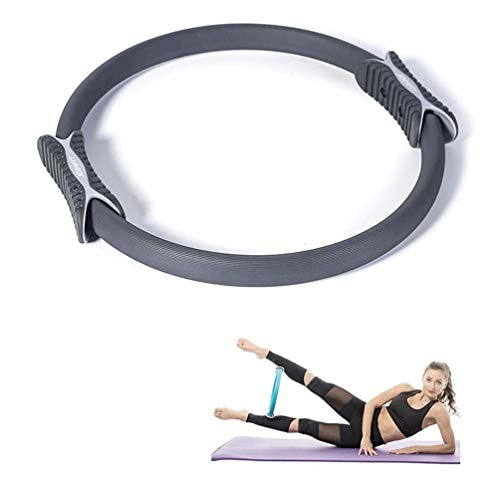 JJZD Chest Expander Yoga Ring, Fitness Equipment, Core Training, Arms, Thighs, Chest, Abdominal Muscles (Size : 86)