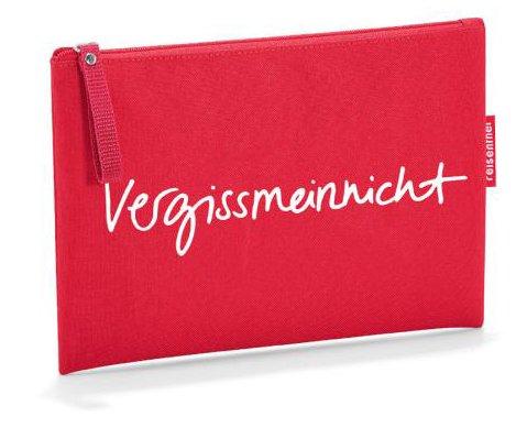 Reisenthel Travelling Pochette cosmétique/trousse de toilette 24 cm Rouge vergissmeinnicht