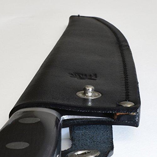 堺一文字光秀手作り革製さや筋引き240mm用