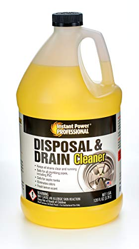 Instant Power Professional Disposal & Drain Cleaner, 8816, 128 Fl. Oz.