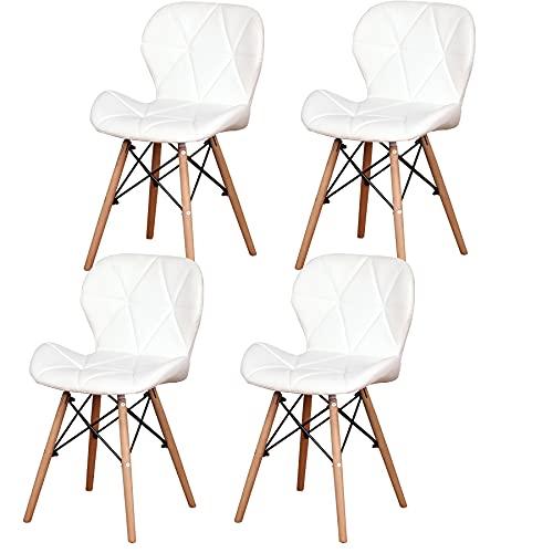 Sillas De Cocina Blancas Madera sillas de cocina blancas  Marca GrandCA HOME